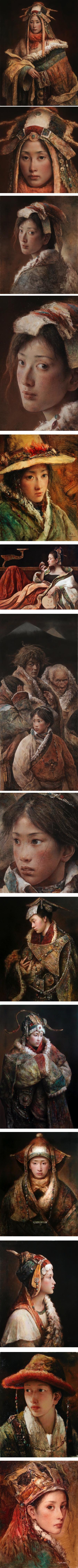 Tang Wei Min, portraits