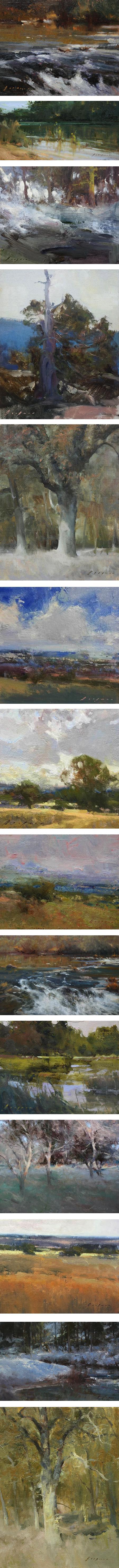 Simon Addyman, landscape paintings