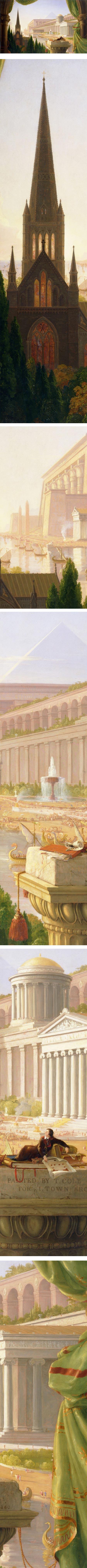 Architect's Dream, Thomas Cole