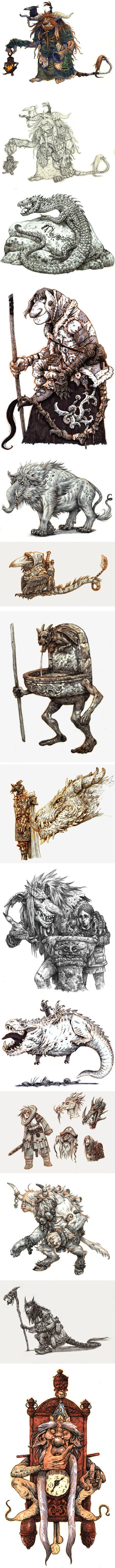 Eoghan Kerrigan, fantasy illustration
