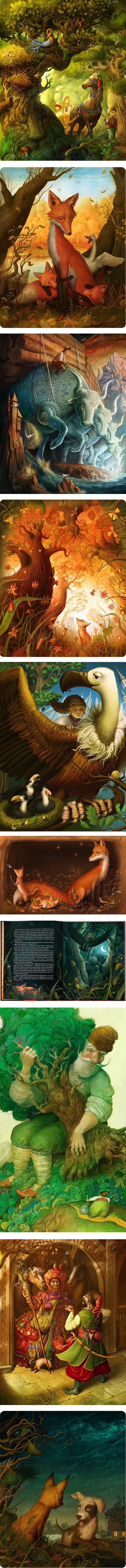 Ivan Sulima, childrens book illustration