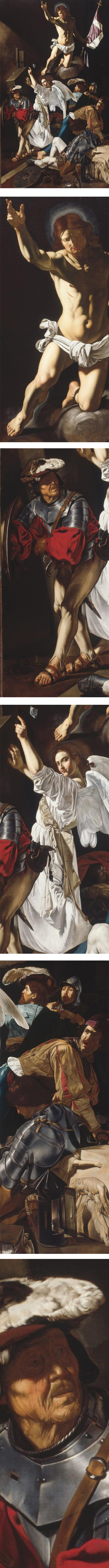 The Resurrection by Cecco del Caragaggio (Francesco Buoneri)