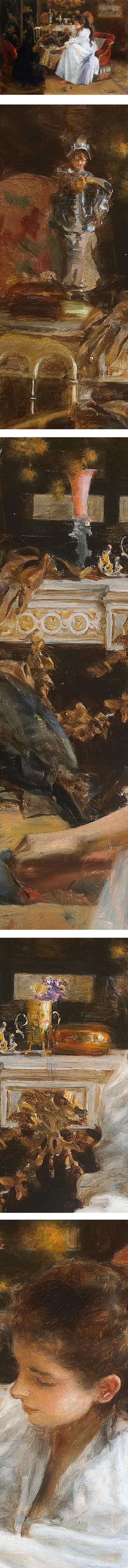 De soiree, Roma Ribera