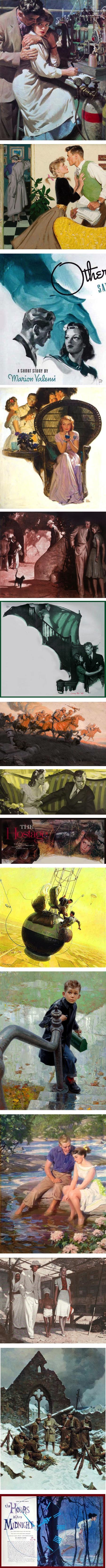 Tom Lovell illustrations
