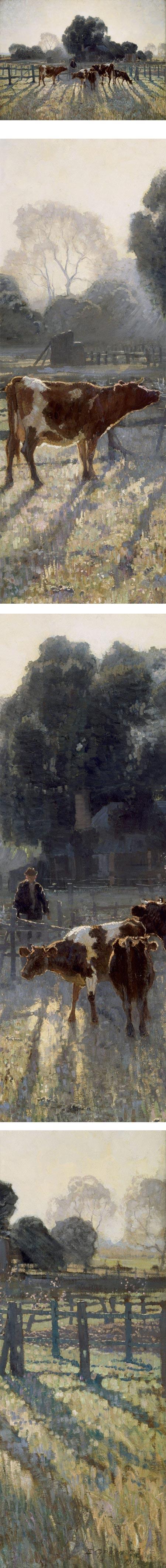 Spring Fros, Elioth Gruner