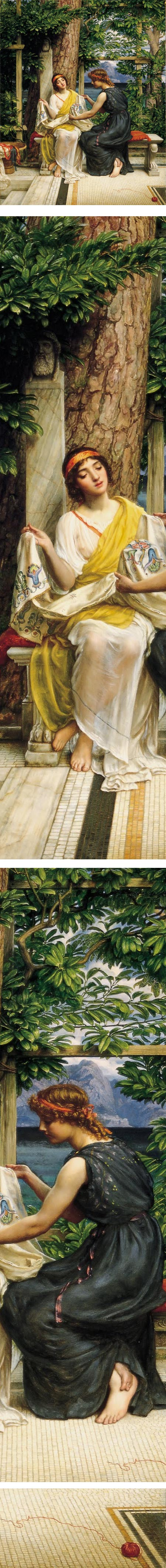 Helena and Hermia, Edward John Poynter