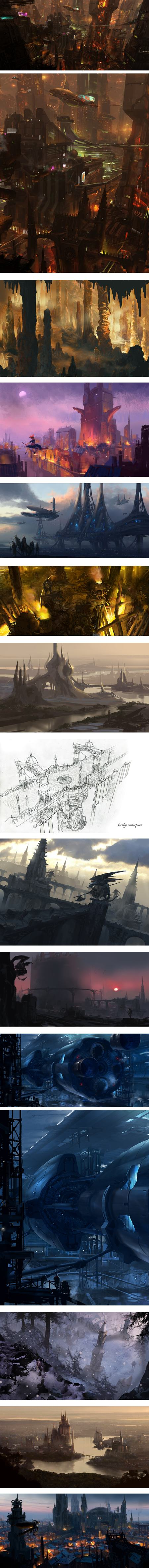 Charles Lee, visual development artist