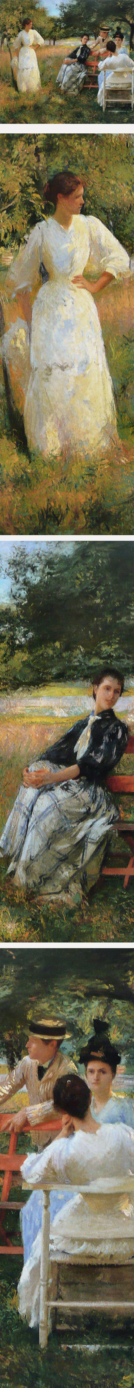 In the Orchard, Edmund Charles Tarbell