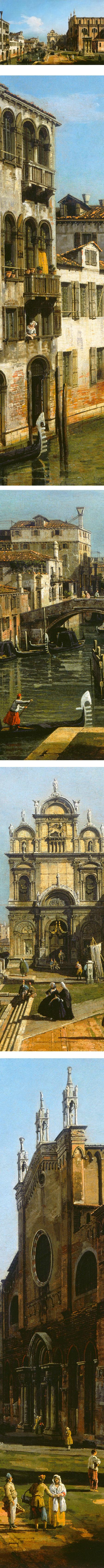 The Campo di SS. Giovanni e Paolo, Venice; Bernardo Bellotto