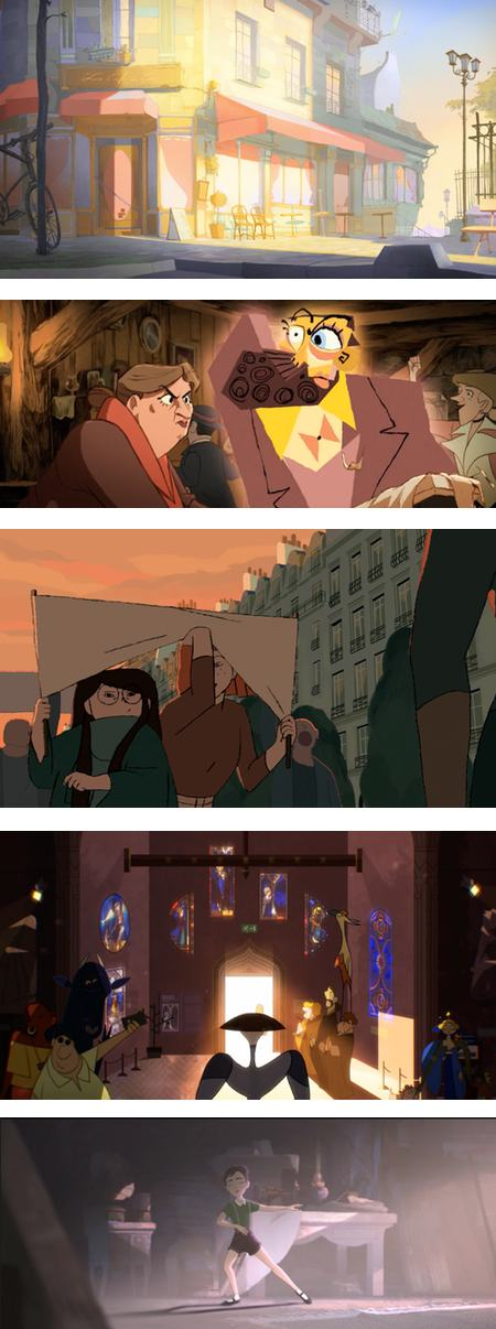 Gobelins students' animations for Annecy 2016