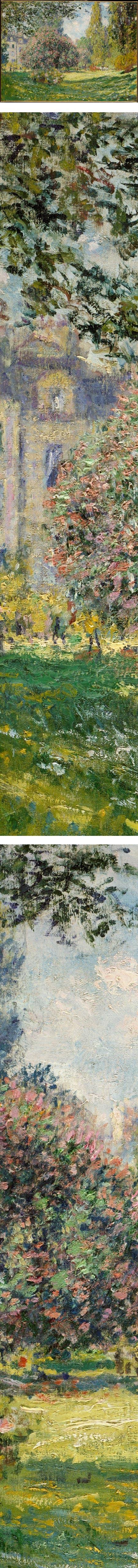 The Parc Monceau, Claude Monet