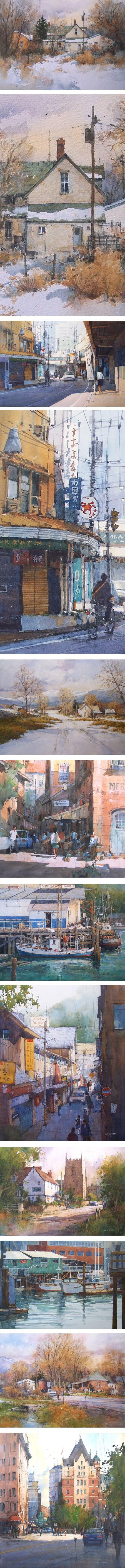 Ian Ramsay, watercolor