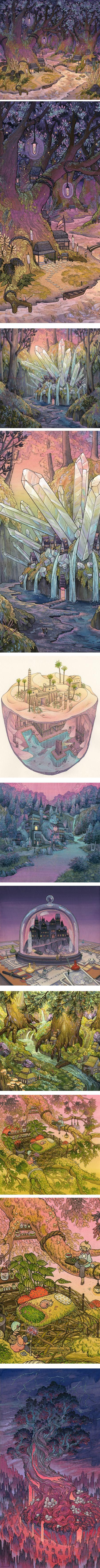 Nicole Gustafsson, illustration