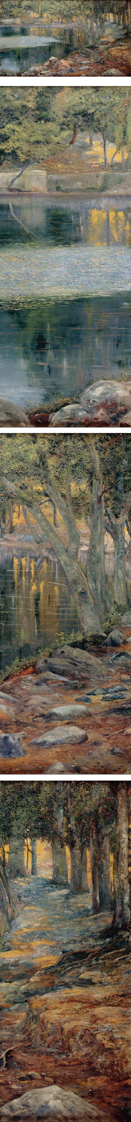 Burgeoning Springs in Autumn, Joaquin Clausell
