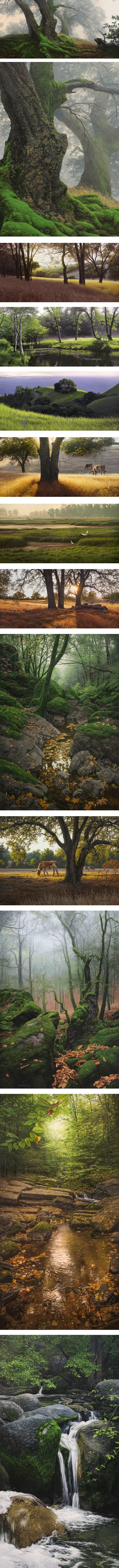 Adair Payne, landscape painting