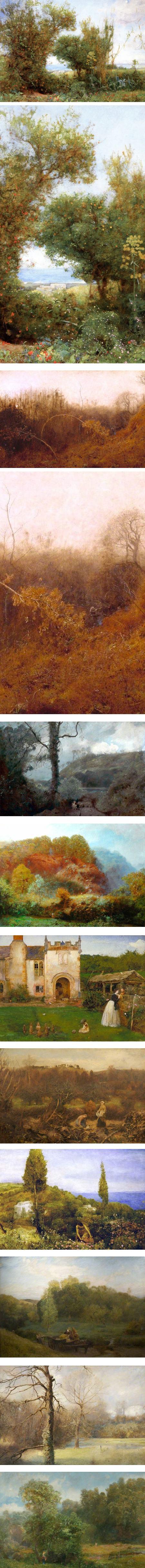 John William North, Victorian painter
