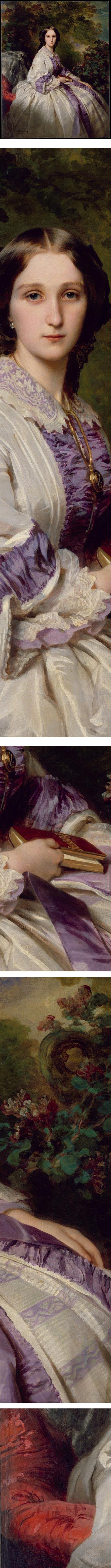 Portrait of Countess Alexander Nikolaevitch Lamsdorff (Maria Ivanovna Beck), Franz Xaver Winterhalter
