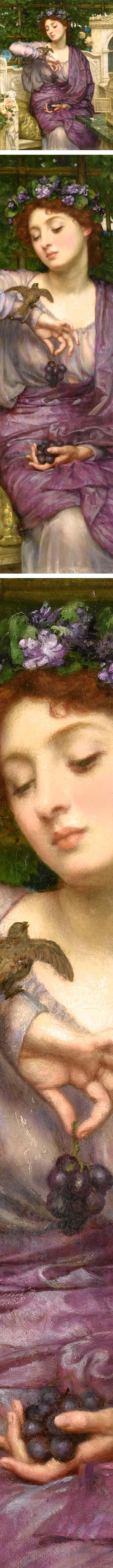 Lesbia and Her Sparrow, Sir Edward John Poynter