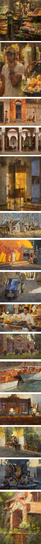 James Crandall, urban landscape