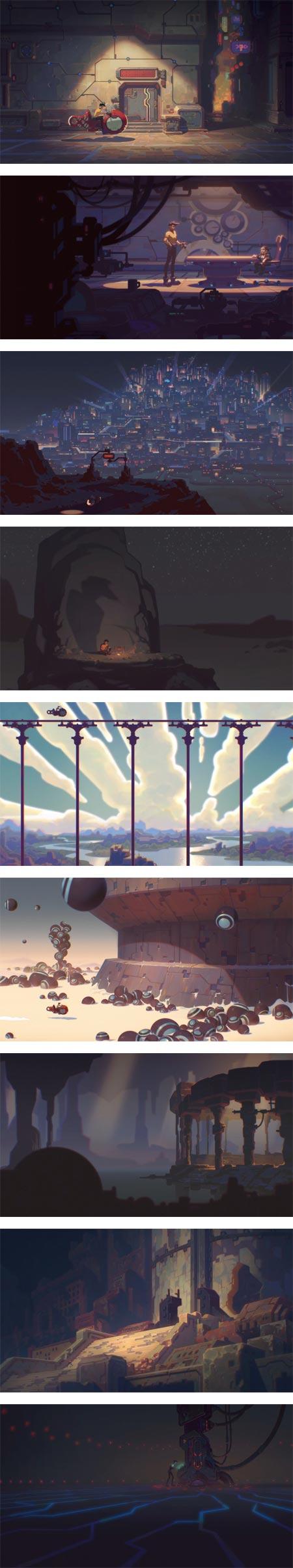 X-Story, Vitaliy Shushko, animation