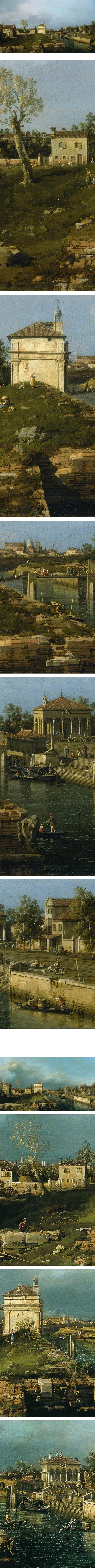 The Porta Portello, Padua; Canaletto (Giovanni Antonio Canal)