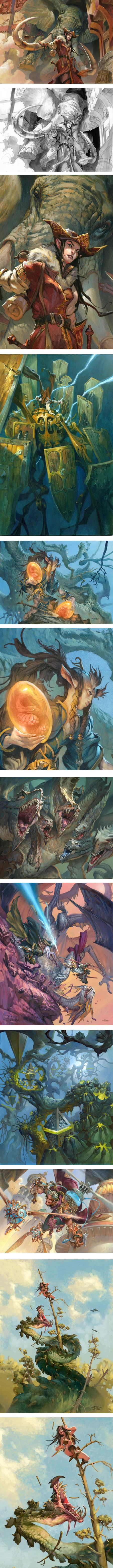 Jesper Ejsing, fantasy illustrations