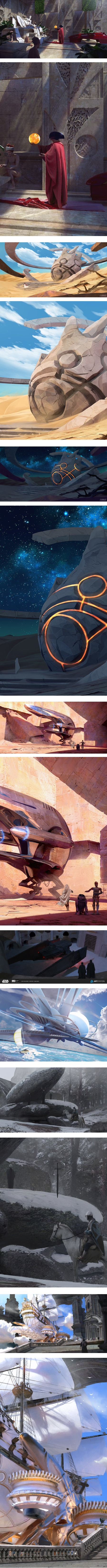 Pablo Carpio, concept art and illustration