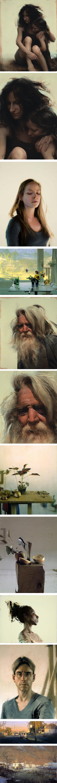 Daniel Sprick, portraits, figures, still life