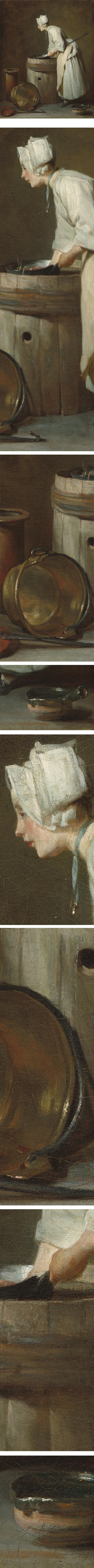 The Scullery Maid, Jean-Siméon Chardin