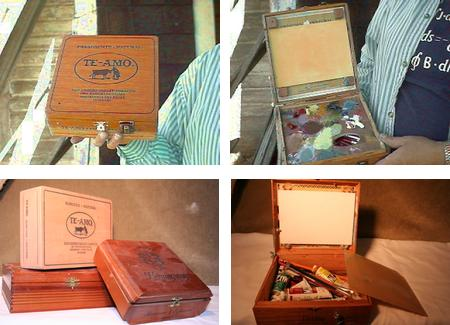DIY Cigar Box Pochade Boxes