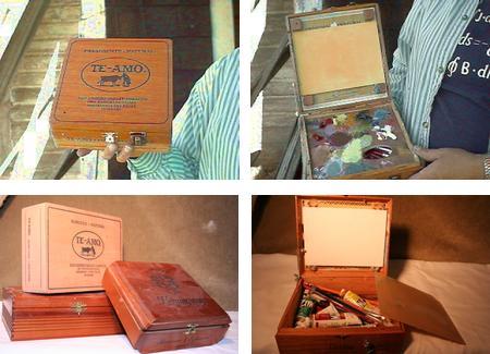 DIY Cigar Box Pochade Boxes