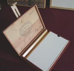 Frank Hobbs, cigar box pochade box
