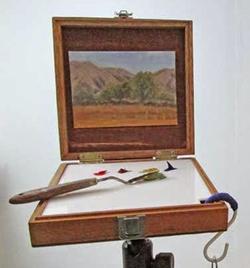 Gabrielle Sivitz, cigar box pochade box