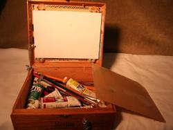 Lori McNee, cigar box pochade box