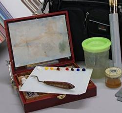 Sharon Will, cigar box pochade box