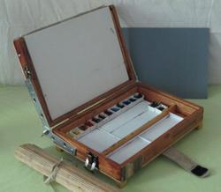 Stephen D'Amato, cigar box pochade box