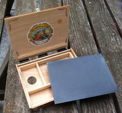 Thomas Jefferson Kitts, cigar box pochade box