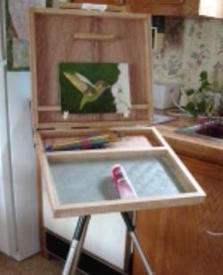 WBarts, DIY pochade box