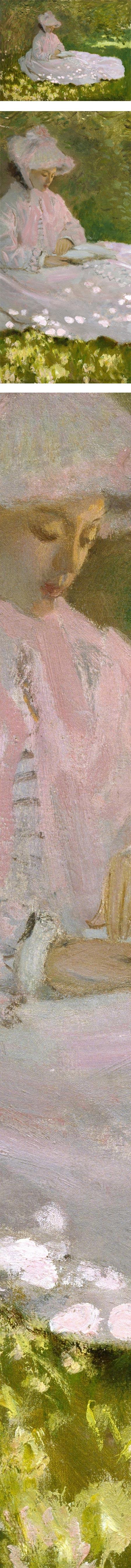 Springtime, Claude Monet, Impressionist oil painting