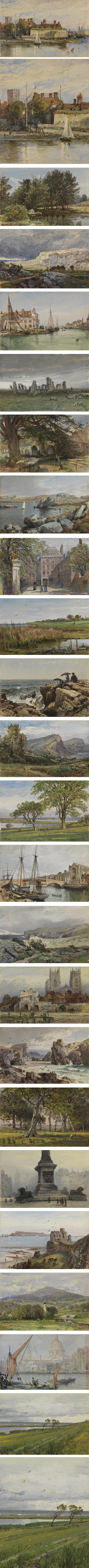 A Mine of Beauty: William Trost Richards small watercolors at PAFA
