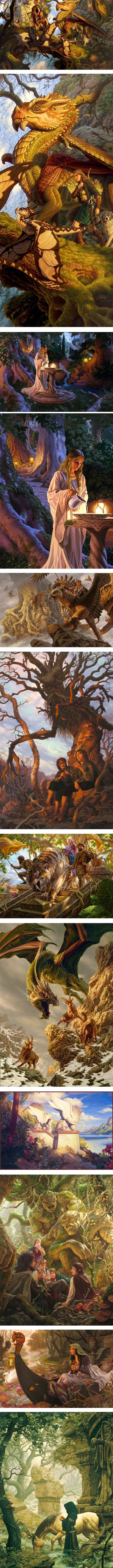 Raoul Vitale, fantasy art, concept art, gaming illustration