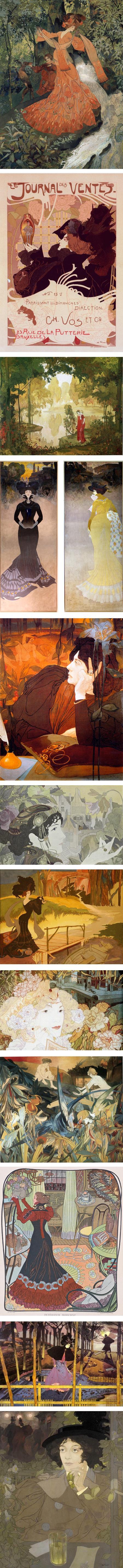 Georges de Feure, Art Nouveau