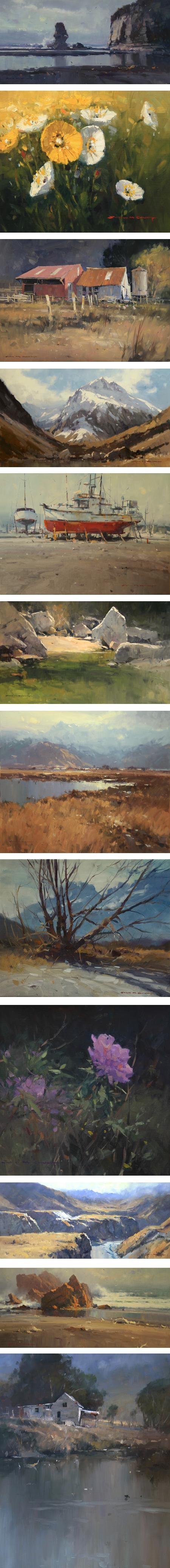 John Crump, New Zealand landscape painter