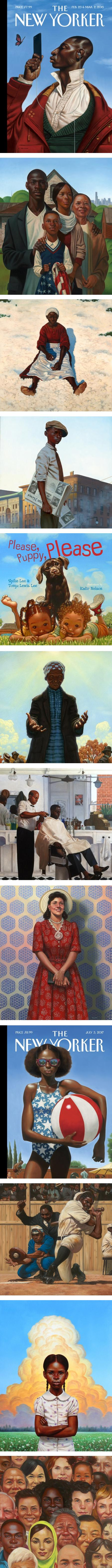 Kadir Nelson, illustration and gallery painting