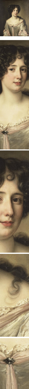 Portrait of Maria Mancini, Duchess of Bouillon, Jacob Ferdinand Voet, 17th century Flemish portrait