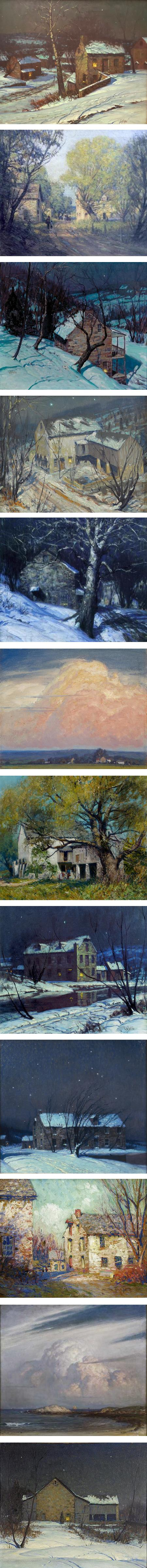 George Sotter: Light and Shadow at Michener Museum