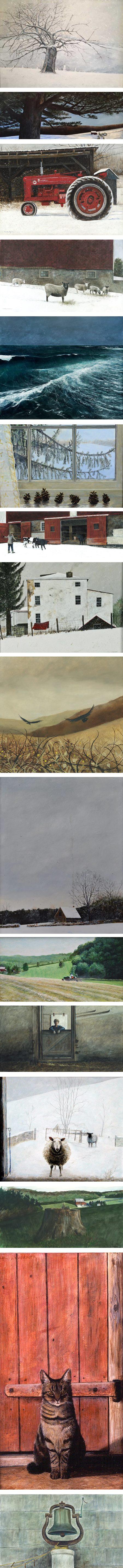 Karl J. Kuerner, painter in the Brandywine Tradition