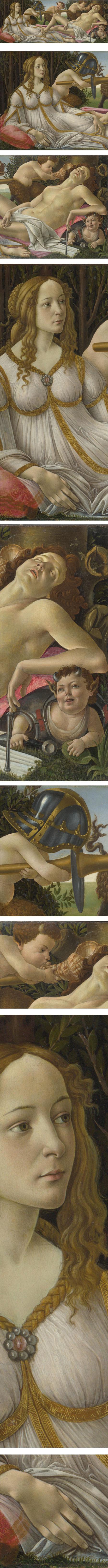 Venus and Mars, Sandro Botticelli