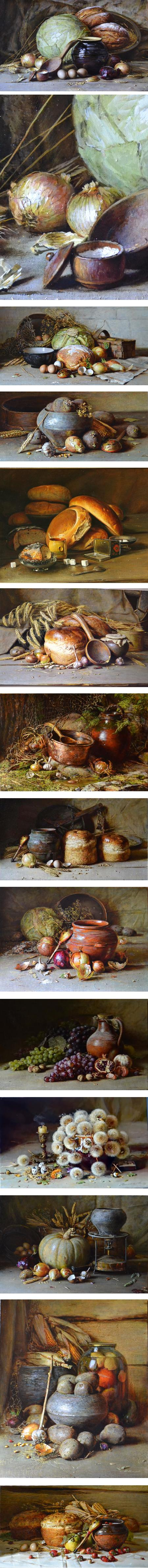 Yury Nikolaev, Russian still life painter