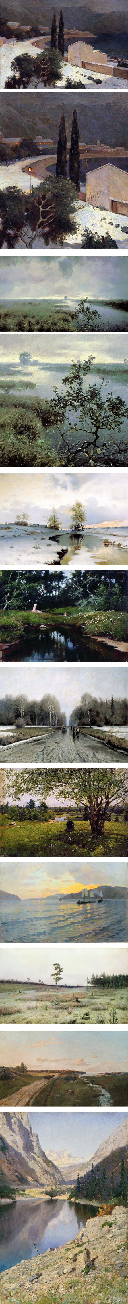 Ivan Endogurov, landscape